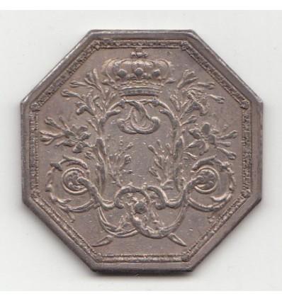 Jeton Louis XVI trésorerie générale des dépenses diverses s.d.