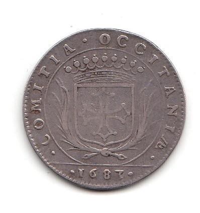 Jeton Louis XIV états du Languedoc 1683