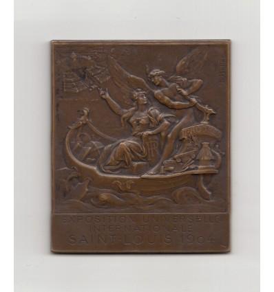 Etats-unis, exposition universelle de Saint-Louis par Louis Botté 1904