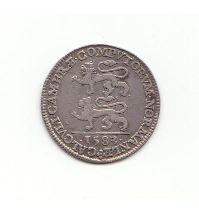 Jeton Henri III chambre des comptes de Normandie 1583
