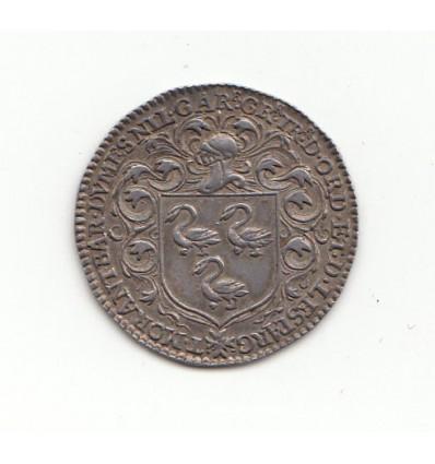 Jeton aux armes de Thomas II Morant, intendant de Normandie s.d. ( 1621-1625 )