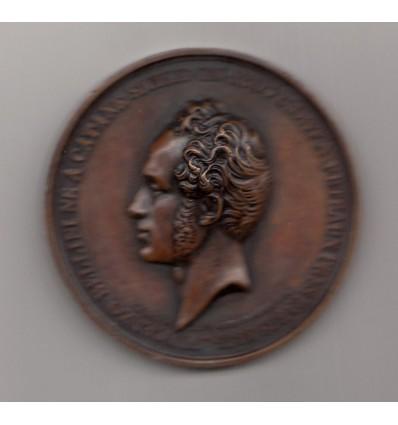 Portrait du compositeur italien Vincenzo Bellini par Caqué s.d.
