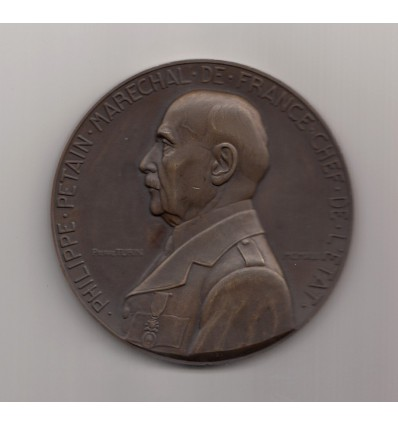 Philippe Pétain, chef d'état par Pierre Turin 1941