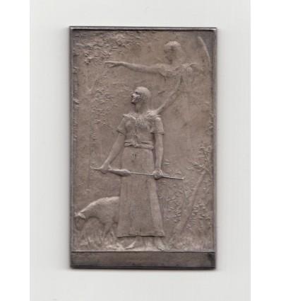 Jeanne d'Arc libératrice du territoire par Daniel-Dupuis s.d. ( 1900 )
