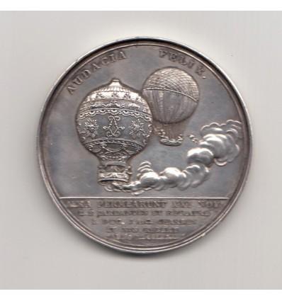 Vol en ballon des Frères Montgolfier 1783