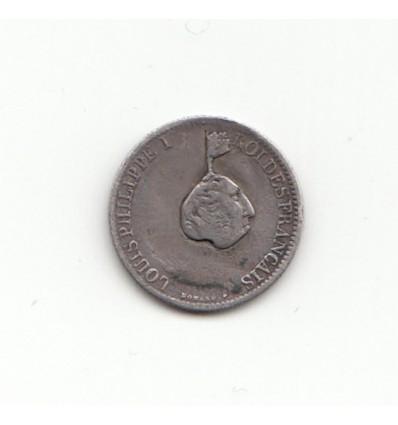 Satirique Louis-Philippe I sur 1/2 Franc 1833