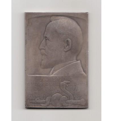 Hommage au Dr Bardet, société thérapeutique 1913