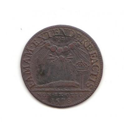 "Jeton Henri III "" faman extenderefactis "" 1578"