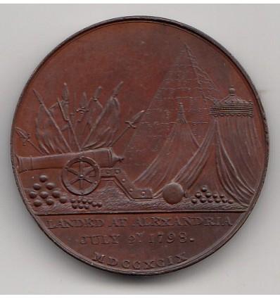 Egypte débarquement de Napoléon à Alexandrie 1798