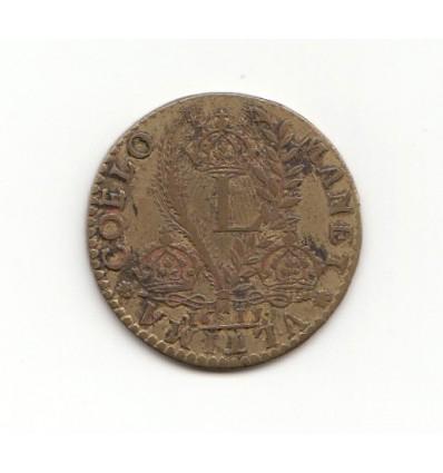 "Jeton Louis XIII "" manet ultima coelo "" 1615"
