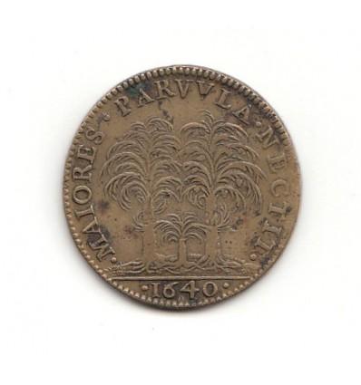 Jeton Anne d'Autriche 1640