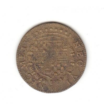 Noblesse de Provence jeton aux armes d'Oraison de Cadenet 1572