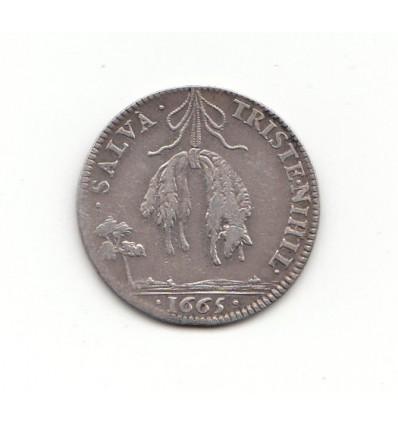 Jeton Louis XIV corporation des tisserands et drapiers 1665