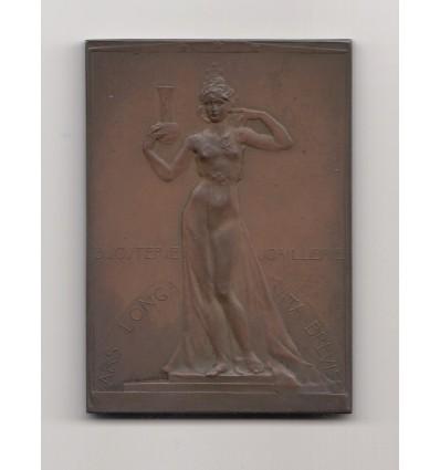 Belgique cinquantenaire de l'atelier d'orfèvrerie Louis Wolfers 1900