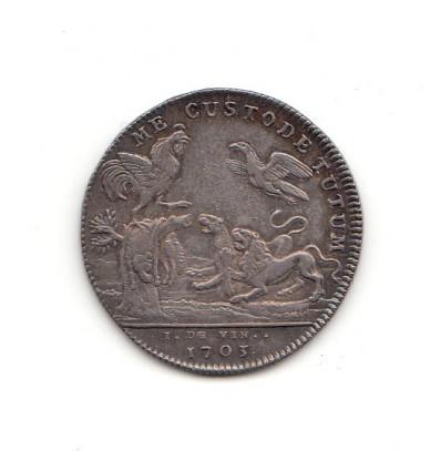 Jeton corporation des drapiers de Paris 1703