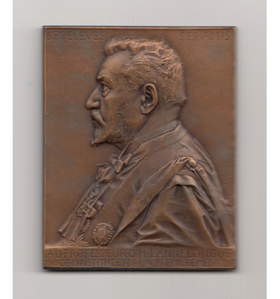Le professeur Odilon Lannelongue par J-C. Chaplain 1901