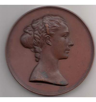 Napoléon III ville d'Amiens hommage à Mme Cornuau épidemie de choléra 1866