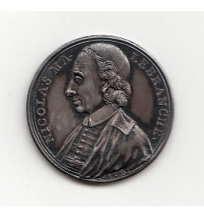 Jeton Nicolas Malebranche par Dassier 1715