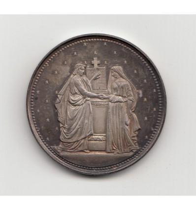 Médaille de mariage 1882