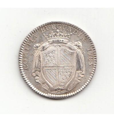 Jeton Louis XVI Etats de Bourgogne 1785