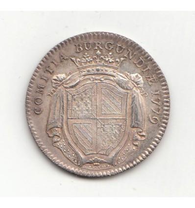 Jeton Louis XVI Etats de Bourgogne 1779