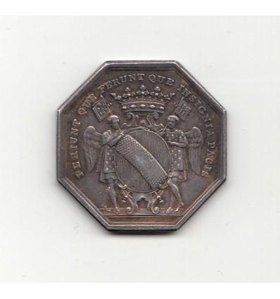 Noblesse de Bretagne jeton aux armes de René-François, marquis de Menou s.d.