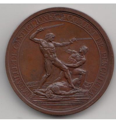 Napoléon Bonaparte bataille de Castiglione 1796