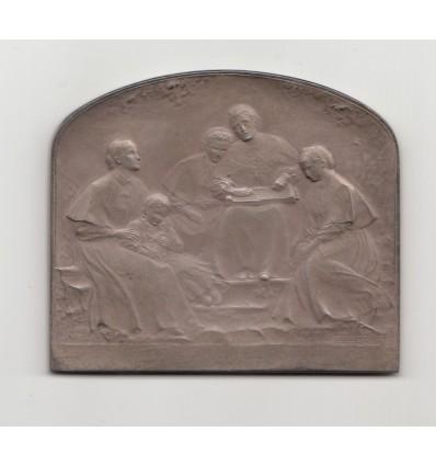 Jeunes aveugles par Hippolyte Lefebvre s.d. ( 1902 )