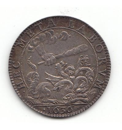 Jeton Louis XIII conseil du roi 1636