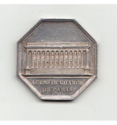 Jeton Napoléon I agents de change de Paris 1813