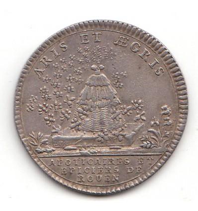 Jeton Louis XV apothicaires et épiciers de Rouen s.d.