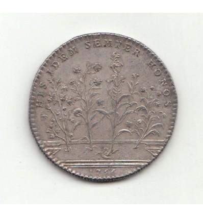 Jeton jeux floraux de Toulouse 1754
