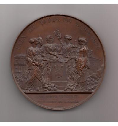 Napoléon III Traité de Paris, le comte Walewski président du congrès 1856