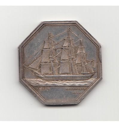 Jeton Bourse de commerce de Valenciennes, commission des cotes s.d.