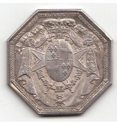 Jeton Ordre du Mont-Carmel et de Saint-Lazare 1773
