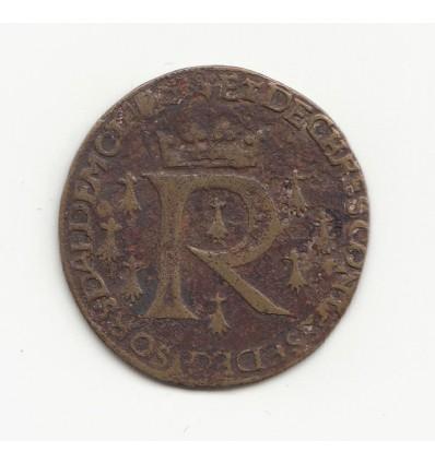 Bretagne, jeton aux armes de Renée de France s.d.