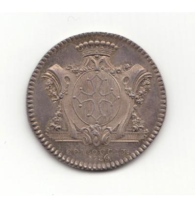Jeton Louis XVI états du Languedoc 1786