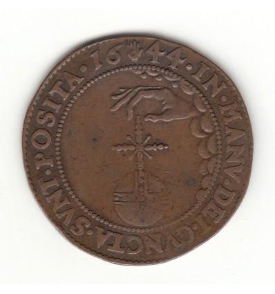 Flandres jeton Philippe IV bureau des finances 1644