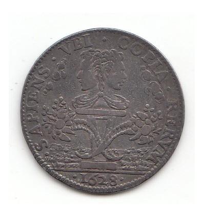 Jeton Louis XIII trésoriers généraux des fermes 1628