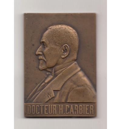 Médecine, hommage au docteur H. Barbier 1924