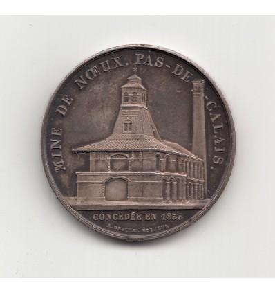 Jeton compagnie des mines de Vicoigne et Noeux 1884
