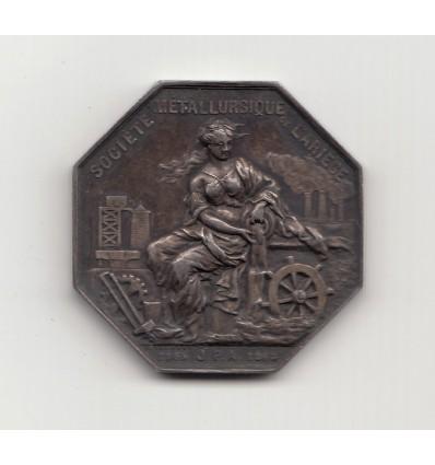 Jeton société métallurgique de l'Ariège 1868