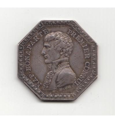 Jeton Napoléon Bonaparte avoués près du Tribunal de Paris 1804