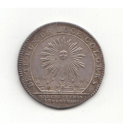 Jeton corporation des teinturiers 1749