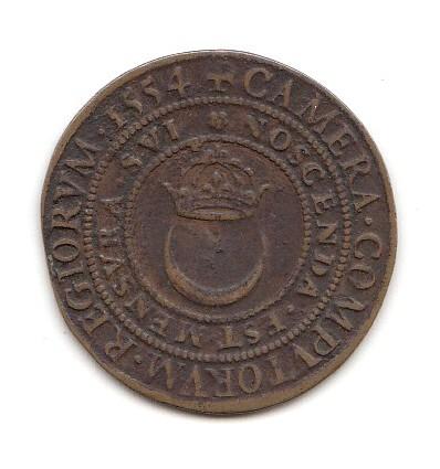 Jeton Henri II chambre des comptes 1554