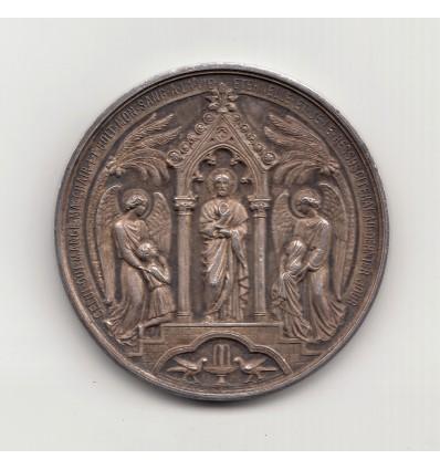 Médaille de baptême, première communion et confirmation 1900