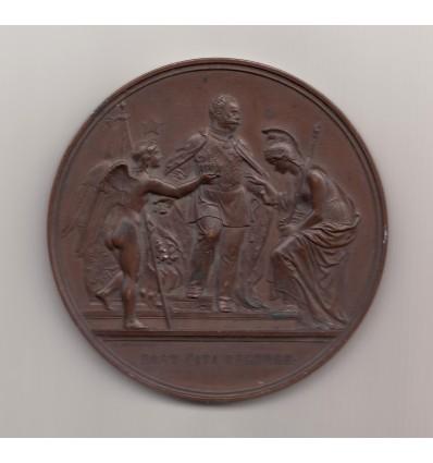 Italie, Victor-Emmanuel II transfert de la capitale de Firenze à Rome 1871