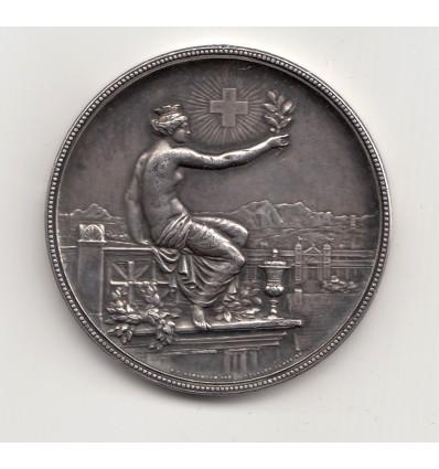 Suisse, médaille de Tir Winterthur 1895
