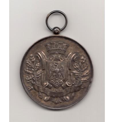 Médaille  Club de la voile de Nice 1893