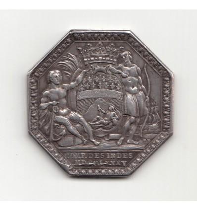Jeton Louis XVI compagnie des Indes 1785